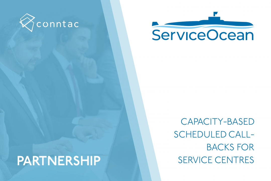 ServiceOcean compliments Conntac's self-service offering