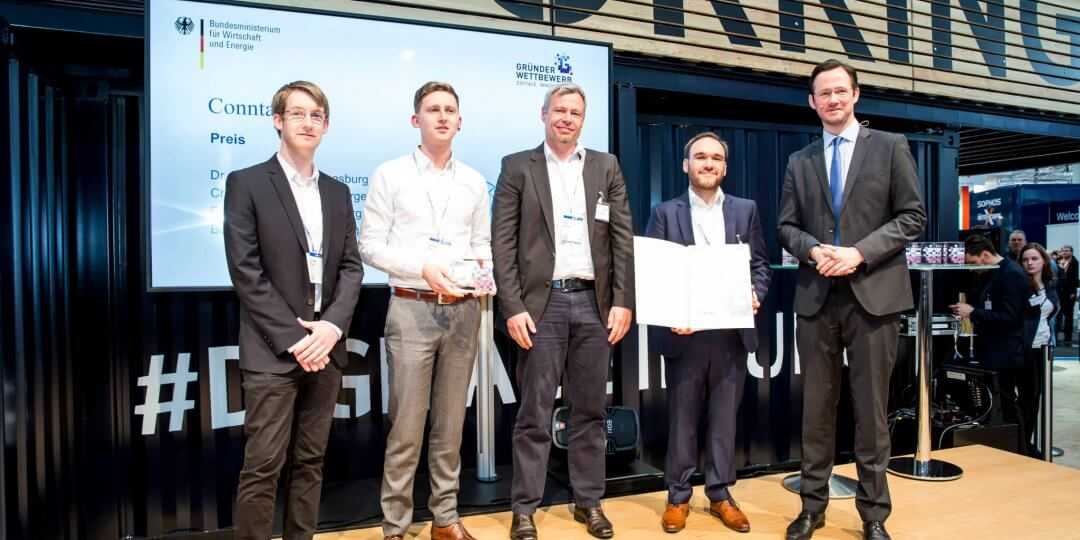 Startup Conntac receives multiple awards